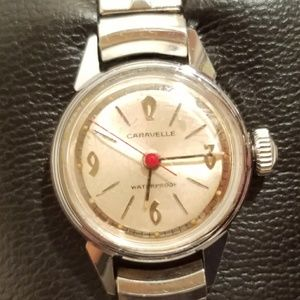 Vintage Caravelle Anti-Magnetic Silver Watch